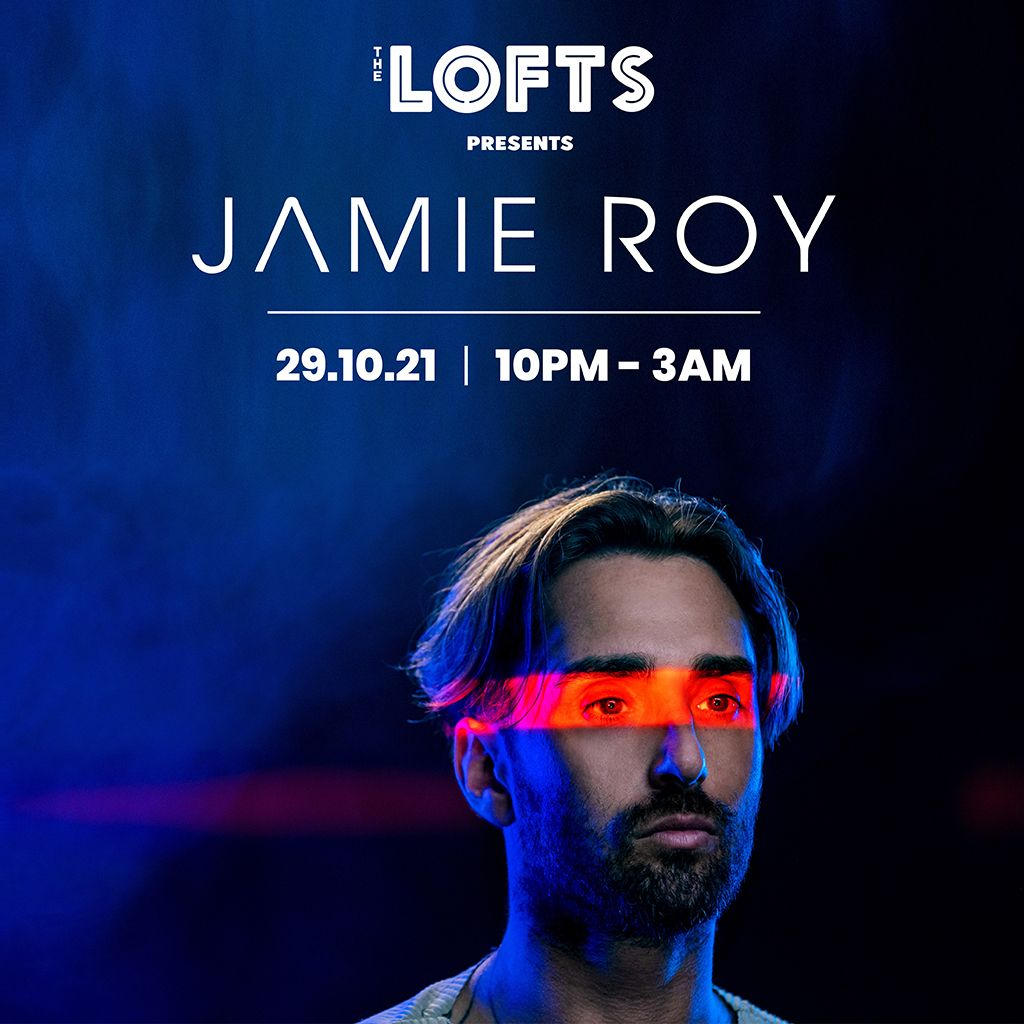 What a way to start the Halloween weekend, with @jamieroyuk TICKETS: buff.ly/3n9i0bG
