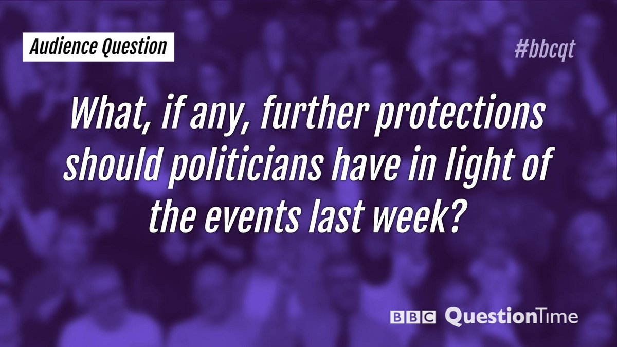 The fourth question. #bbcqt