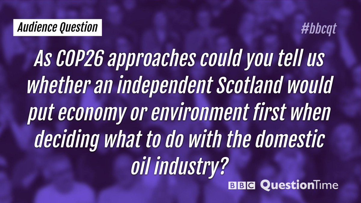 Our third audience question. #bbcqt