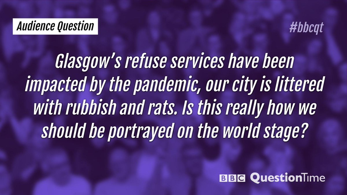 Our final audience question tonight. #bbcqt
