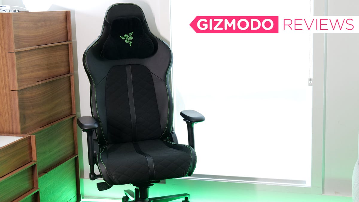 RT @Gizmodo: Razer's Enki Made Me a Believer in Gaming Chairs