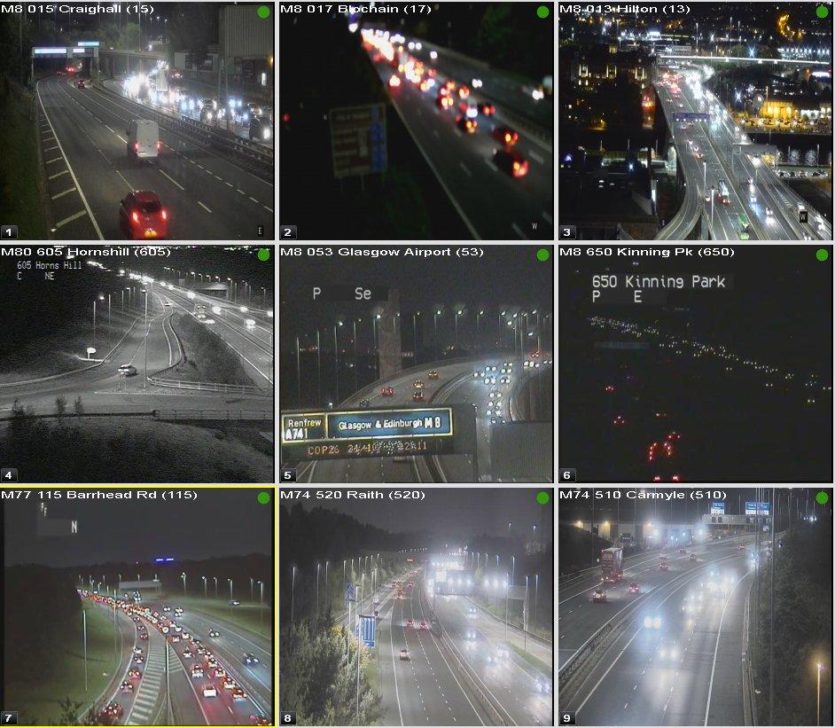 test Twitter Media - ⌚ 19:20  #Glasgow Congestion  #M8 Roadworks J15-18 W/B from J12 More info: https://t.co/mYoMF8fbdj  E/B J25-24  #M74 N/B J1A-M8  #M77 N/B J2-1  #DriveSafe @SWTrunkRoads @Glasgow https://t.co/Ebx0o2iQ9n