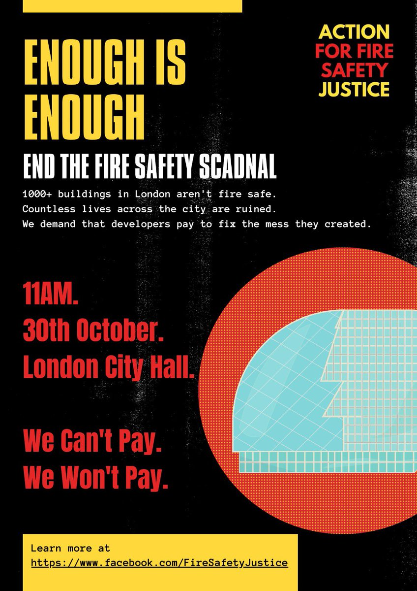 Join us ✊👇#EndOurCladdingScandal