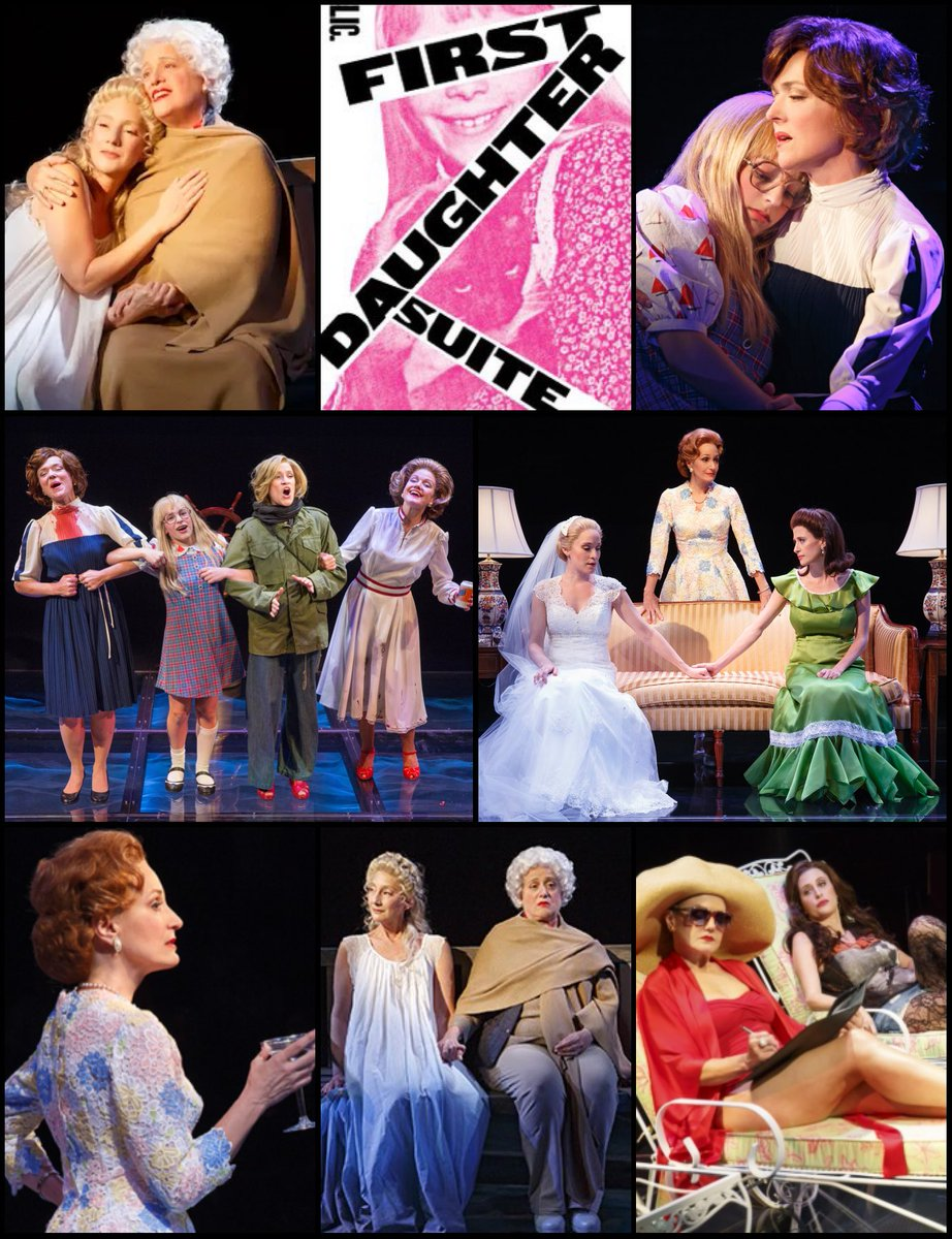 Six years ago, Michael John LaChiusa's First Daughter Suite starring Mary Testa, @CaissieLevy, @alisonfraser, and @rachelbayjones opened Off Broadway! @PublicTheaterNY @isabelsinging @scottpaskstudio @TKTS