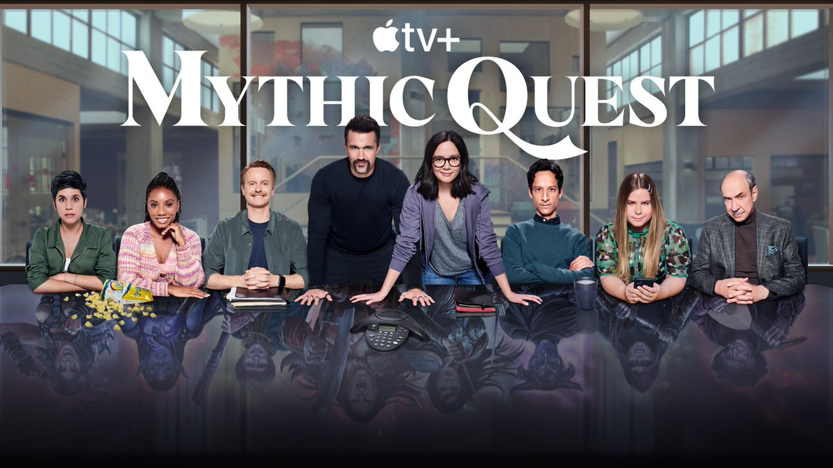 Mythic Quest has been renewed for a third and fourth season on Apple TV Plus