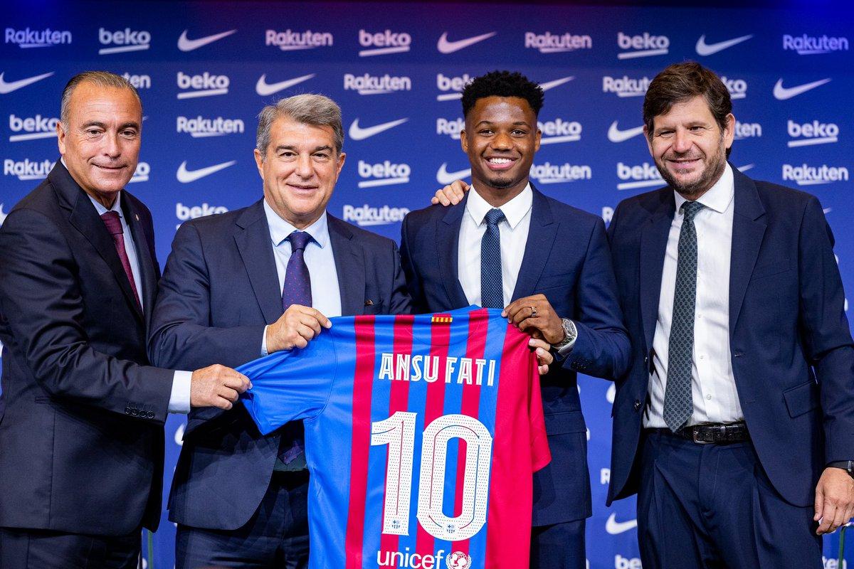 Muy feliz por seguir creciendo en este gran club!💙❤️¡Visca el Barça! https://t.co/mw3LCqYAkz
