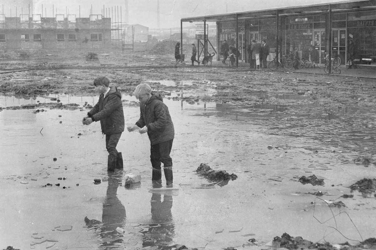 Castle Vale - A picture taken when the estate was still being built in 1966   © Trinity Mirror