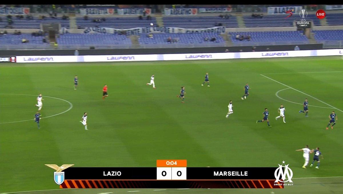 Full match: Lazio vs Marseille