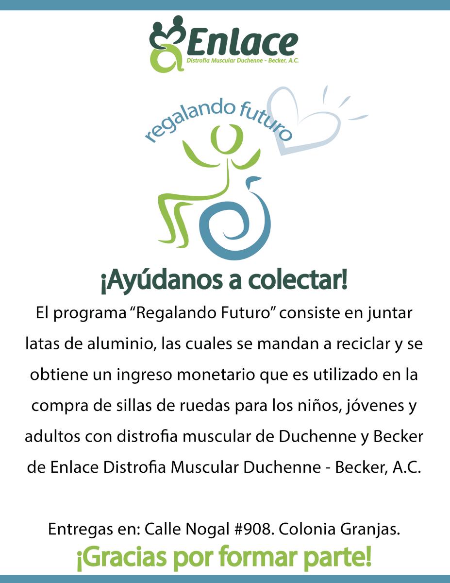 RT @EnlaceDMDB: ¿Nos ayudas? #Reciclado  #YoSoyEnlace 💚 Programa en #Chihuahua https://t.co/58elRSVLK4