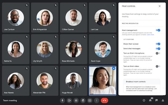 Google Meet moderation gets easier with audio mute locks