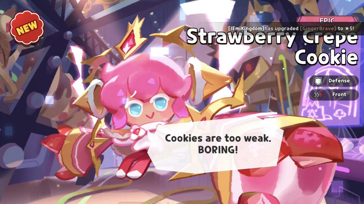 YES! YASSSSSAAZS  #cookierun #cookierunkingdom https://t.co/F6PwC0J1nf.