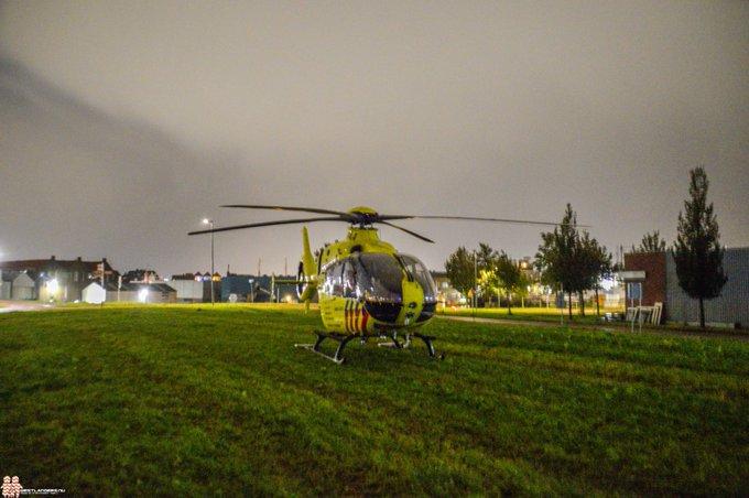 Traumahelikopter ingezet bij onwelwording https://t.co/j6aB7OekTk https://t.co/WMH9jXDhnR