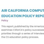 Image for the Tweet beginning: .@AIRInforms published a report about