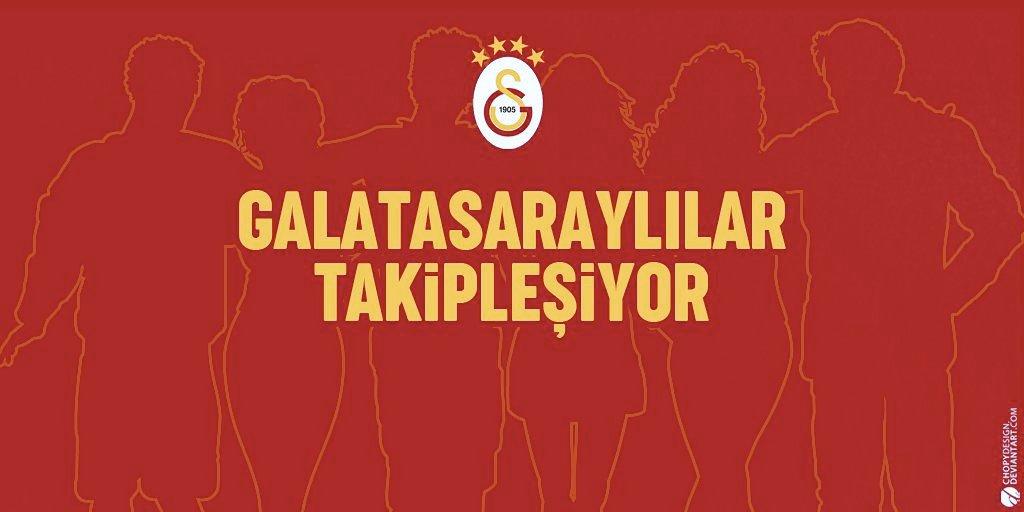 Lokomotif Moskova galibiyeti şerefine, tüm Galatasaraylılar ayakta iken 5 K altında GS hesabı kalmaması için TAKİPLEŞİYORUZ.!  GT yazanları ve FAV atanları takibe alalım. RT yaparak yayalım 🔥🔥  #GSLİLERTAKİPLESİYOR
