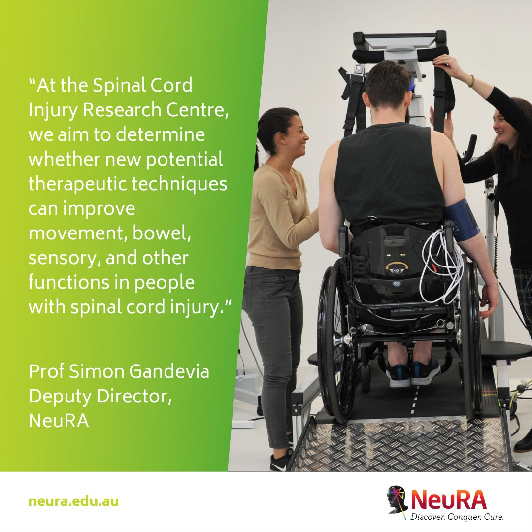 Exciting research gives hope to those with spinal cord injury. 👏👏👏
