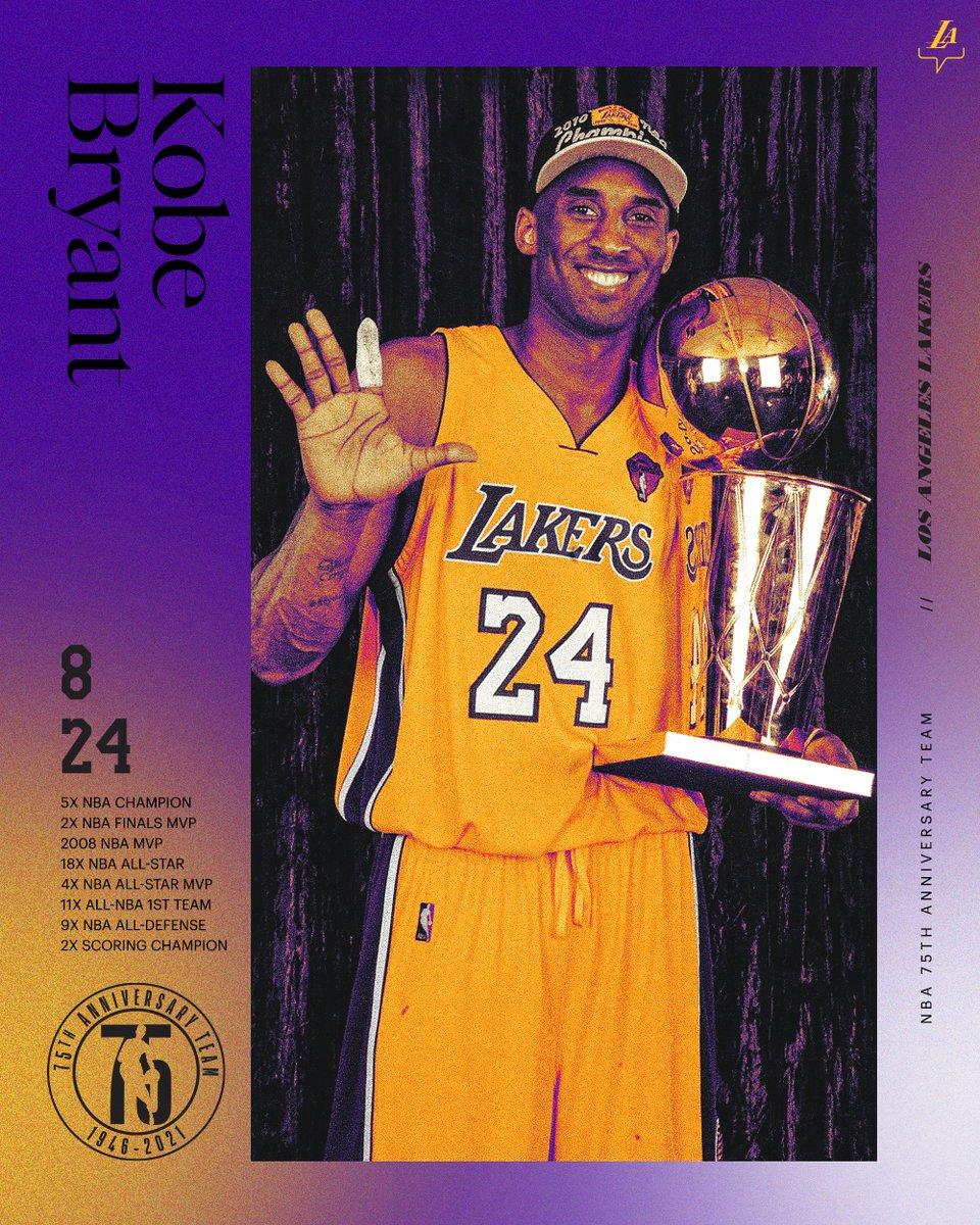 Mamba Forever #NBA75