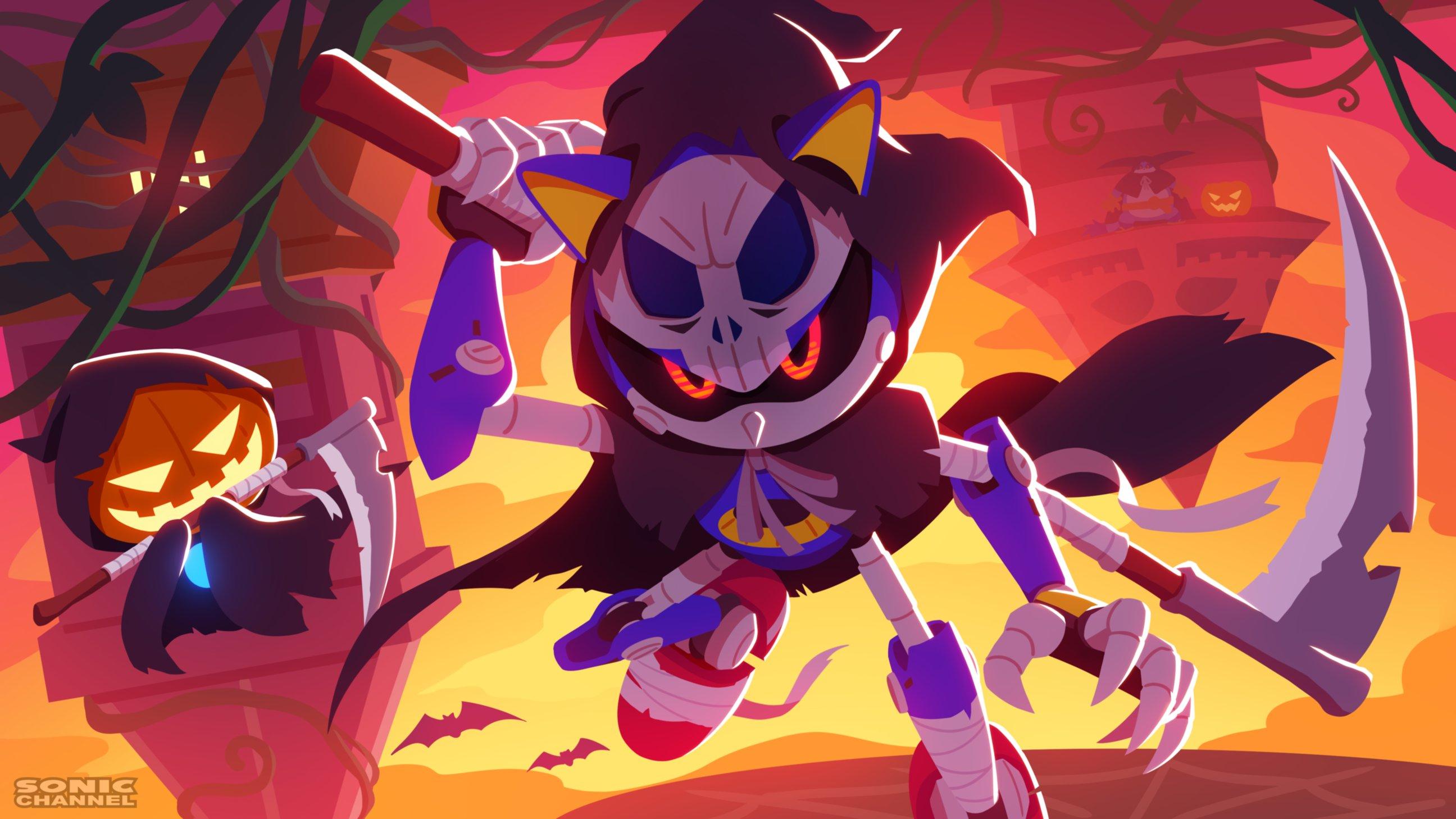 Halloween z Metal Soniciem