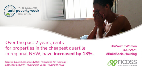 Yes the regional rent crisis means even greater need to increase rent assistance by 50%, #BuildSocialHousing and #RaisetheRateforGood - our key solutions this #APW21. https://t.co/6L3Tbwso7O