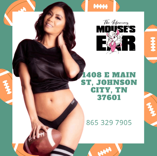 We have Thursday night football on, and the #MLB #NLCS as the #Braves try to punch their ticket to the #worldseries which you can watch here next friday with @lennydykstra! 😁 Let's do this!  . . . #FootballThursday #TheGame #BYOB #MousesEar #JohnsonCity #StripJoint #StripClub