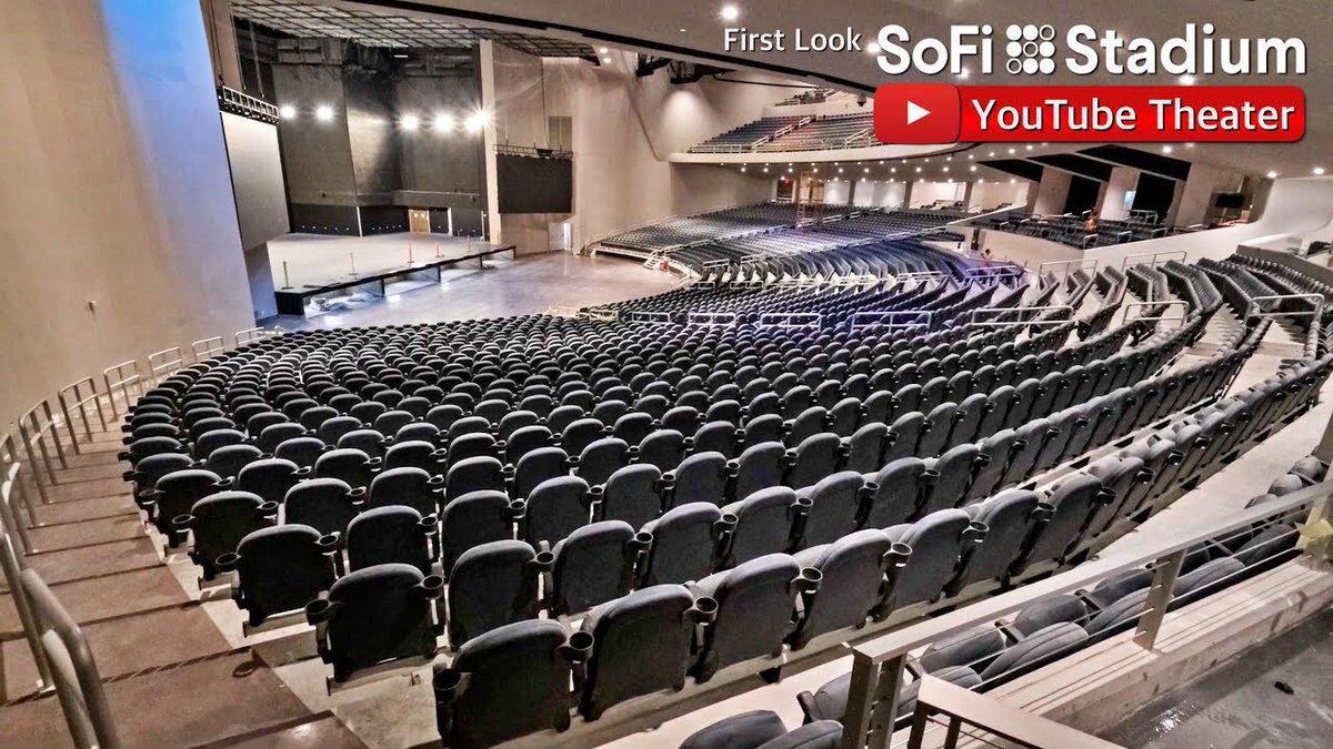 LA'de yaşayan ve konsere bilet alamayan ARMY'ler konseri stadyumun yakınındaki bu YouTube tiyatrosundan izleyecekler 🥺