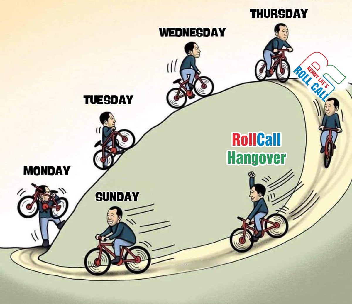 We're almost there Fam! #RollCall