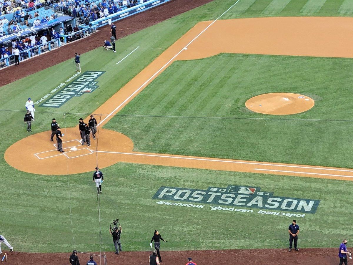 Game 5 Braves v Dodgers. #NLCS