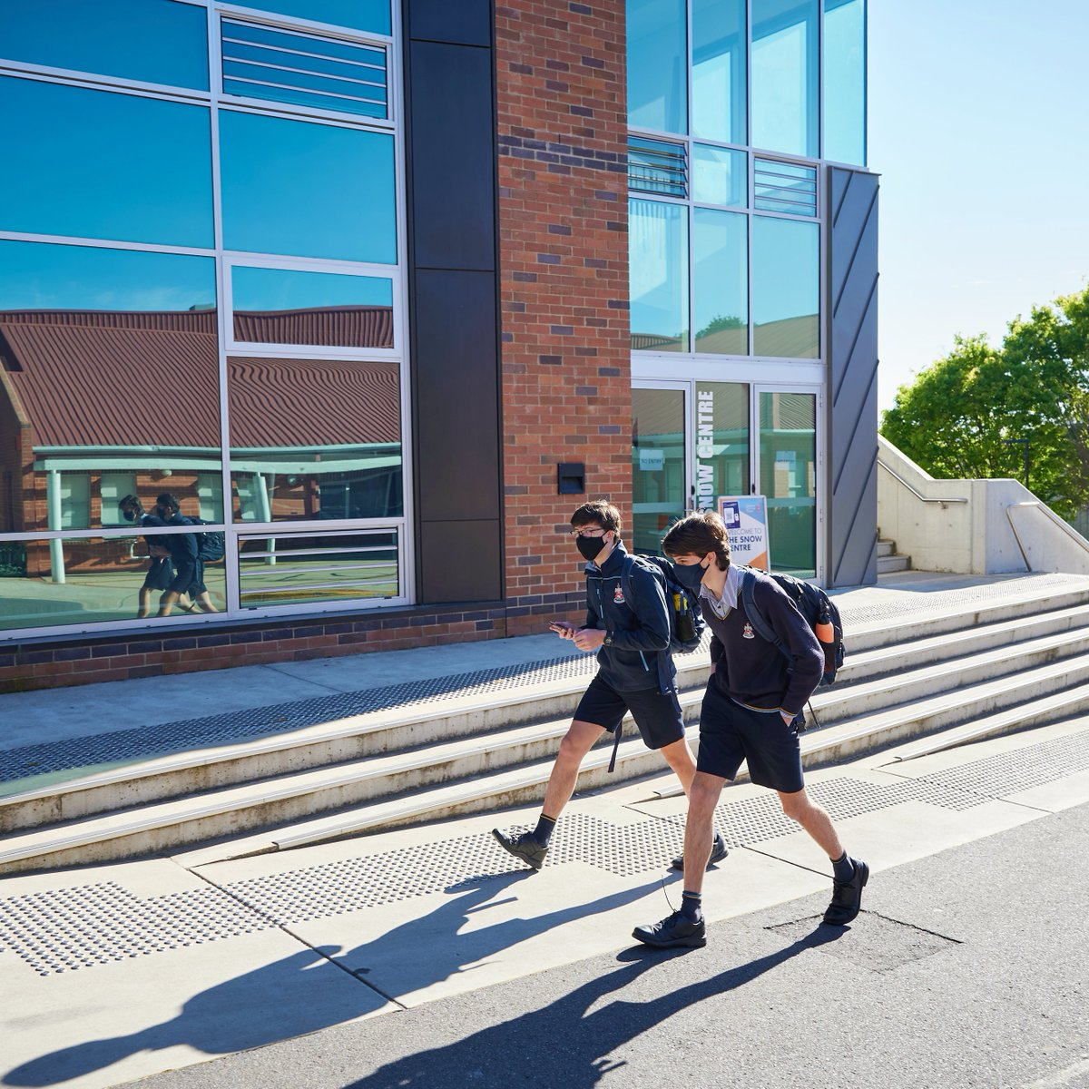 This week we welcomed our Year 11 students back on campus for the rest of Term 4! Good to have you back!