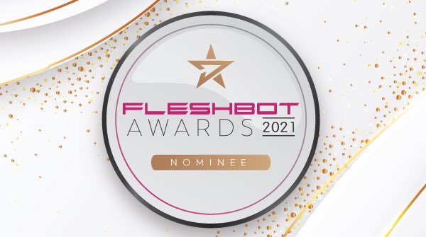 I have been nominatedin the 2021 Fleshbot Web Awards best fansite presence! You can vote once per day through october 28th. please help me to win!! ♪(๑ᴖ◡ᴖ๑)♪❤️❤️❤️ army.delivery/l/4np8dY763cab…
