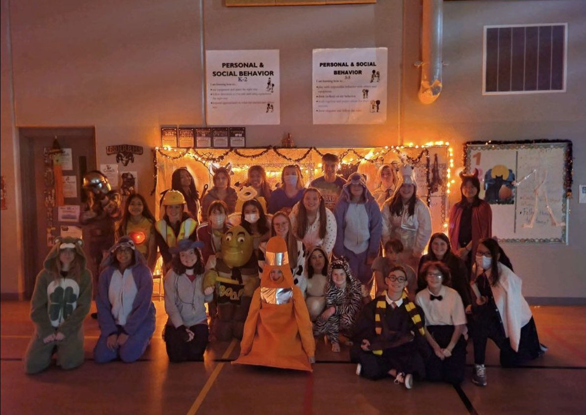 Key Club is just 1 of our high school clubs that focuses on becoming good leaders. They give back to the community with their Safe Trick or Treat, Egg Hunt, pancake breakfasts & Meals from the Heartland events. And have a great time doing it!  #1SEP