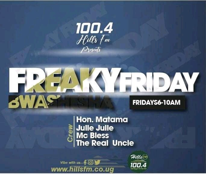 #freakyfriday Good morning,it's finally today and now We are here to make your morning beautiful as we usher you into the weekend. Where are you listening from?