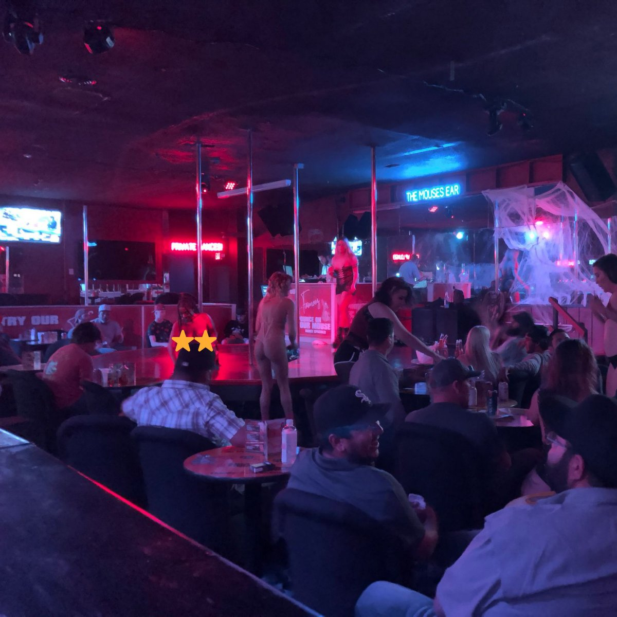 Thursday night party is ON! You still have time to get down here and have the most fun within 100 miles! We're the local hot spot for a reason, and we are happy to show you why! . . . #ThirstyThursday #FootballThursday #Fun #Party #MousesEar #JohnsonCity #StripClub