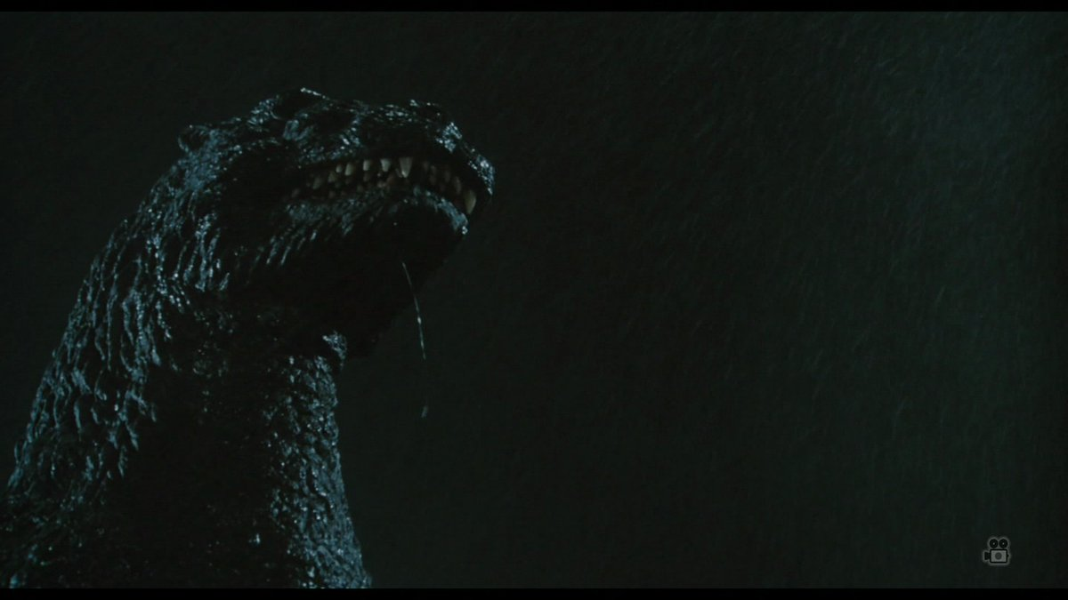 eww I never noticed Godzilla's drool in this shot