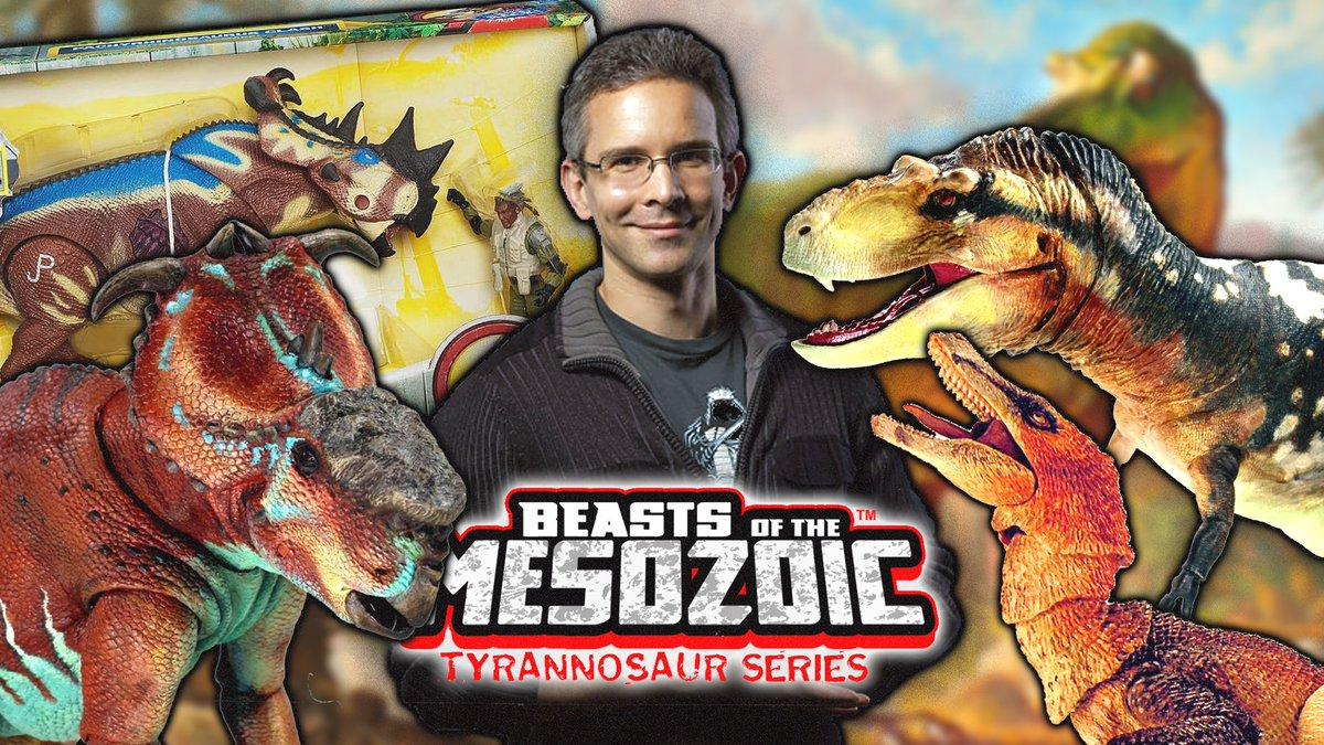 Beasts of the Mesozoic Interview - David Silva Talks Kickstarter, 2009 Hasbro Jurassic Park & more!  Here: