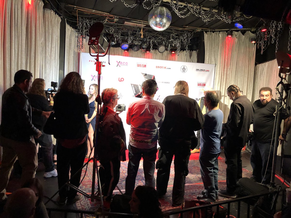 . Thanks to all who attended XRCO last week - hope you had a fantastic time! Pictured: getting ready for Red Carpet.