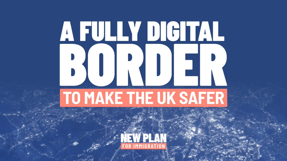 The #BordersBill will establish an Electronic Travel Authorisation (ETA) scheme to help increase the security of our borders. Non-British or Irish citizens arriving from abroad will need a digital authorisation or some other form of permission before they can travel to the UK.