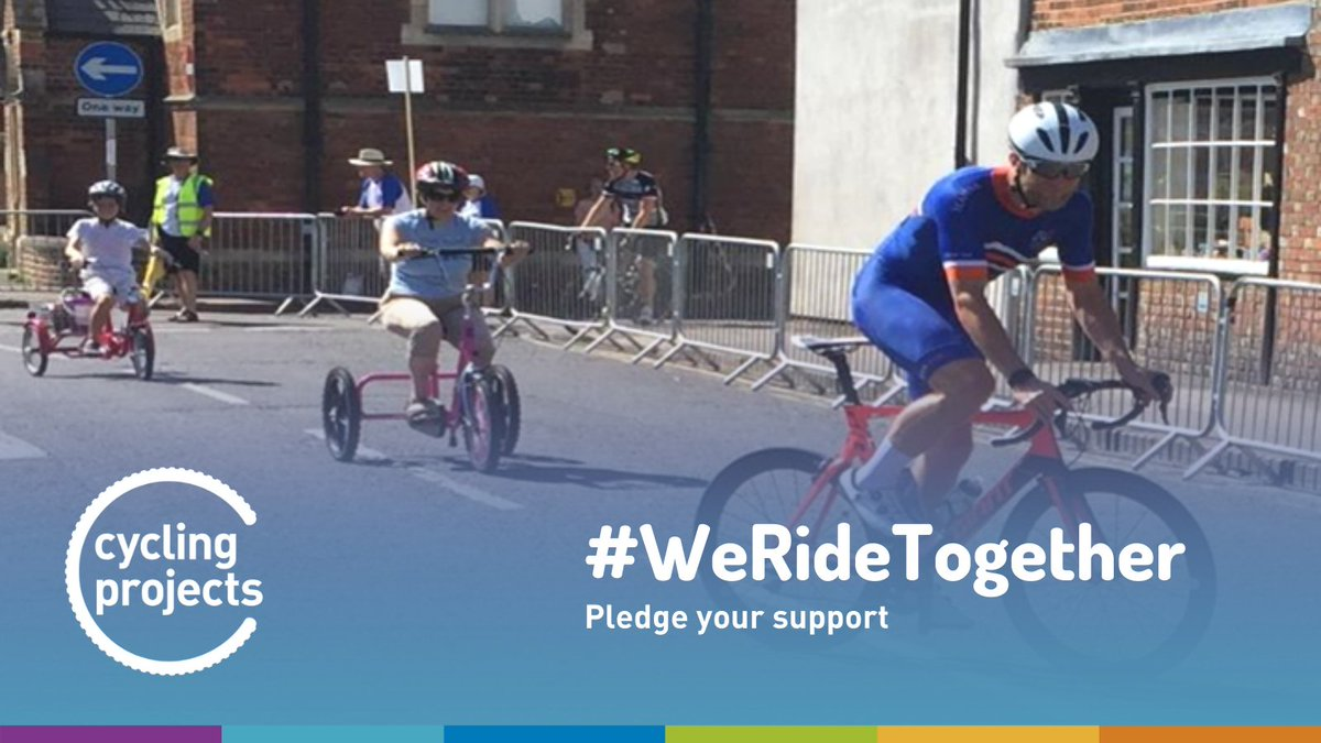 @theJeremyVine As a charity, we're looking for people to pledge their support to help make cycling accessible to everyone. Pledge as a volunteer, an enabler or a connector like @theJeremyVine Do your bit here: forms.gle/s6uojS2gAvVogA… #WeRideTogether #InclusiveCycling