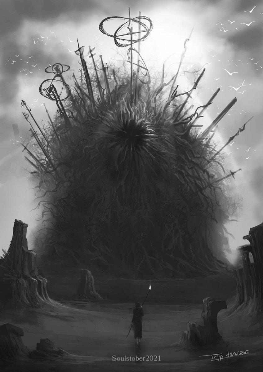 RT @trip_dancer_g: Old One #soulstober #DemonsSouls https://t.co/06rwzl8WEX