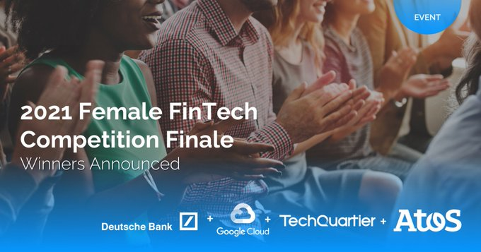 We are pleased to celebrate together with our winners at the #FemaleFintechComp2021 powered by...
