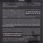 Image for the Tweet beginning: Presentación y proyección del documental