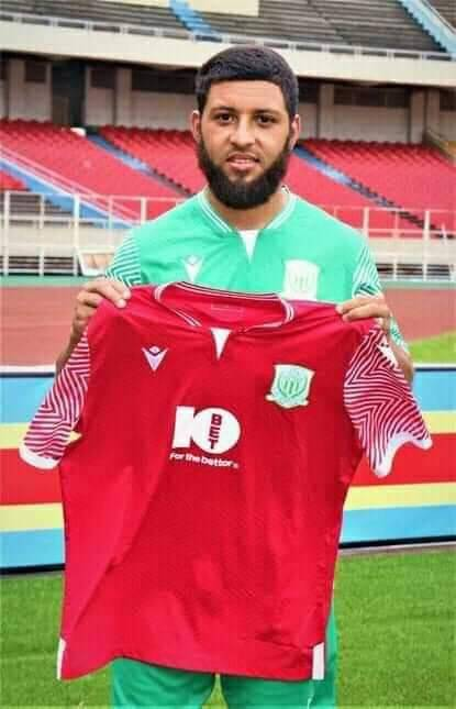 Riyaad Norodien officially unveiled by DR Congo side DC Motema Pembe