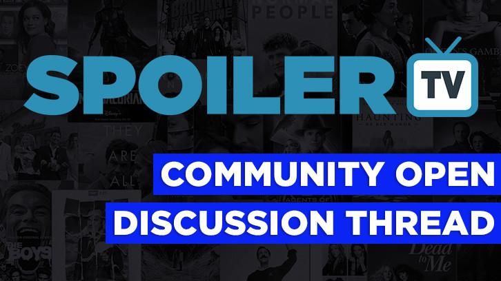 The Daily SpoilerTV Community Open Discussion Thread - 22nd October 2021 spoilertv.com/2021/10/the-da…