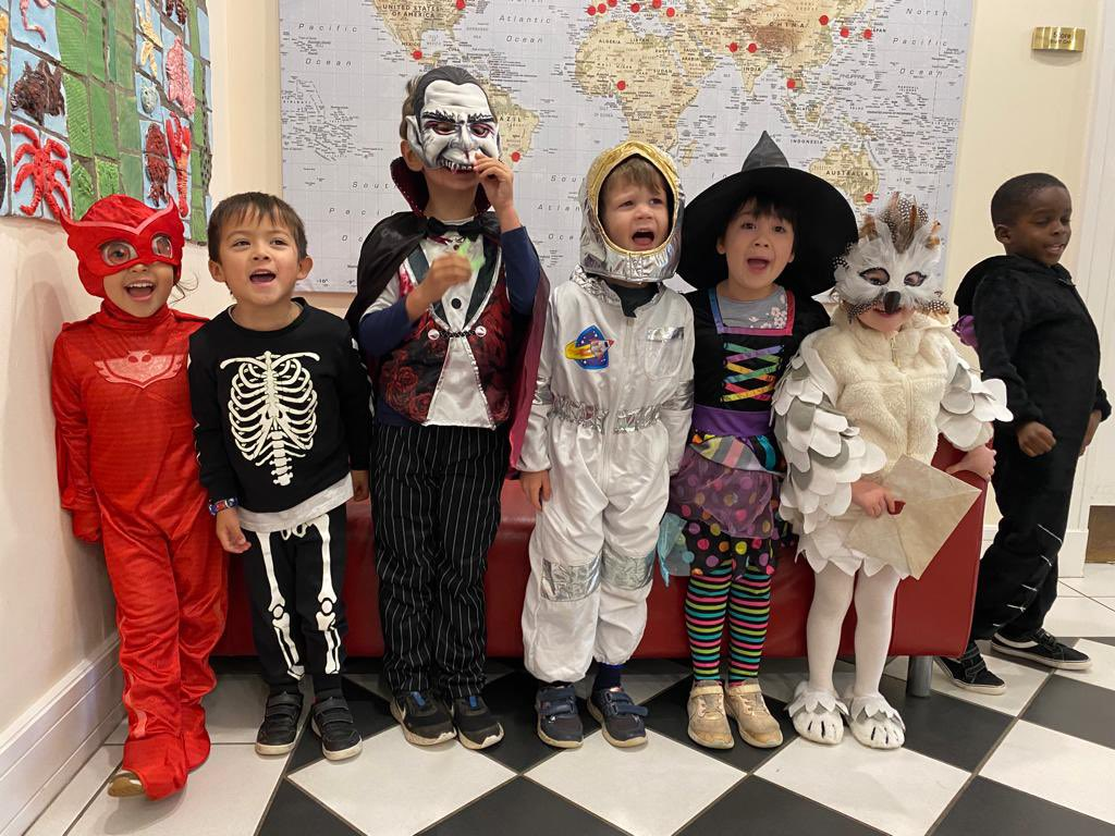 Junior Infants as you never saw them before. #freakyfriday