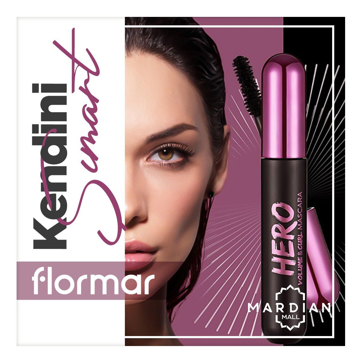 Etkileyici bir göz makyajı için Flormar Hero maskara ile kendini şımart! #MardianMall #Flormar