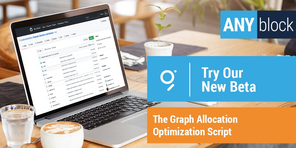 If you're a @graphprotocol Indexer, make sure to check out Wave 2 grantee @Anyblocktools Allocation Optimization Script. 🚀  ✨Watch the tutorial & check out the beta: https://t.co/kG3xYPQ9r0