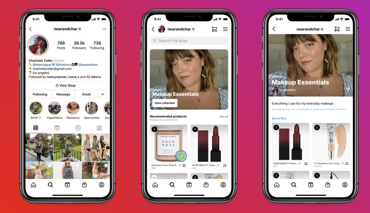 Instagram is testing tools to make it easier for creators to find sponsors