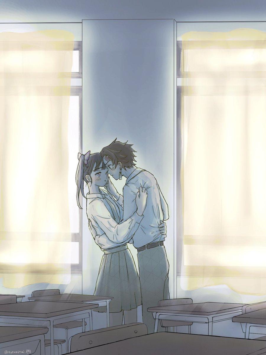 はる日さん(@kusakabe_ha )の素敵な呟きから、葵堂さん(@k_kidoh )が書かれた素敵なお話に、まさかの絵をつけさせてもらいました!表紙にしてもらって、すごく光栄です😭炭カナのきす…🤒、最高なので絶対読んでください...!明日、君とキスをする | 葵堂 #pixiv