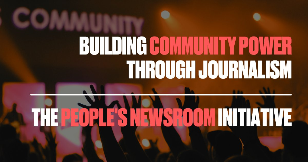 ☕️ For everyone interested in building community power through journalism - join us for our first Community Coffee next Wed (27th) at 11am. We'll be joined by @fatimazsaid from @Amaliah_Tweets for sharing, learning and connecting. We'd love to see you! tinyurl.com/myu4rrdn