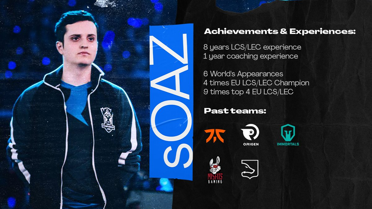 After a year of coaching with LDLC they've allowed me to talk to other teams for 2022 I want to compete as a player again and looking for LEC/LCS/LFL offers. No highly motivated shotcaller bullshit, i want get back to LEC/Worlds ✉️ soaz@prodigy-agency.gg 🔃 + ❤️ appreciated
