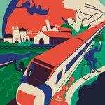 Image for the Tweet beginning: El tren esta tarde en