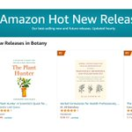 Yay! THE PLANT HUNTER is the #1 new release in Botany on Amazon 😍  Have you picked up your copy yet? If you 💚the book, I'd greatly appreciate reviews + ratings posted on Amazon, Barnes & Noble, or Goodreads 🙏   https://t.co/TR0l0QbHzx